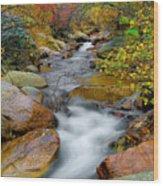 Rock Creek Wood Print