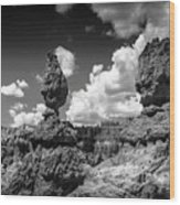 Rock Formations Of Bryce Canyon Wood Print
