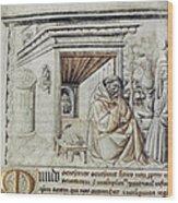 Roger Bacon (1214?-1294) Wood Print
