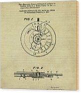 Rolex Watch Patent 1999 In Sepia Wood Print