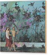 Roman Holiday X Wood Print
