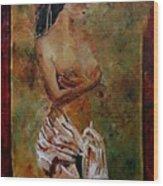Roman Nude 67 Wood Print