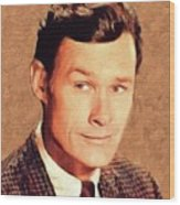 Ron Hayes, Vintage Actor Wood Print