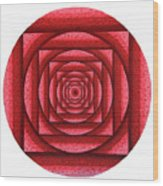 Root Chakra Wood Print