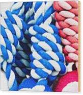 Rope Toys Wood Print