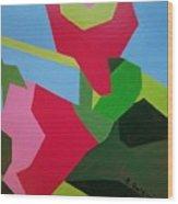 Rose Tremiere Wood Print