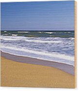 Route A1a, Atlantic Ocean, Flagler Wood Print