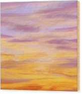 Rowlett Sky Wood Print