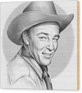 Roy Rogers Wood Print