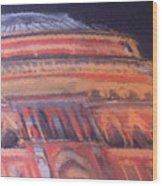 Royal Albert Hall Wood Print