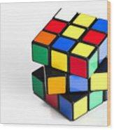 Rubiks Cube Wood Print