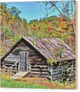 Rural Barn Wood Print