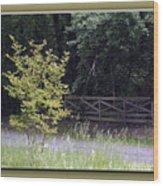 Rural Landscape Wood Print