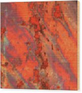 Rust Abstract Wood Print