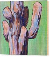 Saguaro 18 Wood Print