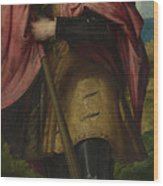 Saint Alexander Wood Print