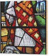 Saint Blaise. Wood Print