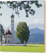 Saint Coloman Church 2 Wood Print
