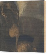 Saint George And The Dragon Wood Print