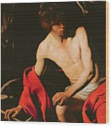 Saint John The Baptist Wood Print