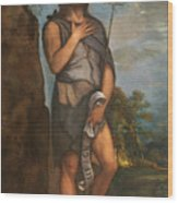 Saint John The Baptist Wood Print