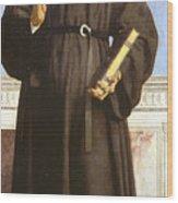 Saint Nicholas Of Tolentino Wood Print