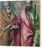 Saint Peter And Saint Paul Wood Print