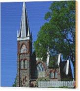 Saint Peter's Roman Catholic Church In Harpers Ferry Wood Print