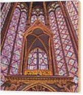 Sainte Chapelle Wood Print