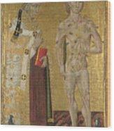 Saints Fabian And Sebastian Wood Print