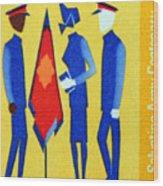 Salvation Army. Wood Print