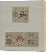 Sampler Wood Print