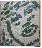 Samson - Tile Wood Print