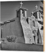 San Francisco De Asis Mission Church Wood Print