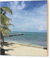 San Pedro Belize Wood Print