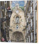 Basilica Of Saint Mary Of The Chorus - San Sebastian - Spain Wood Print