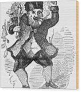 Santa Claus, 1849 Wood Print