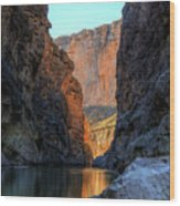 Santa Elena Canyon Wood Print