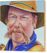 Santana Jack Wood Print