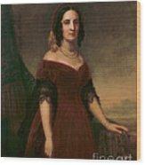 Sarah Polk, First Lady Wood Print