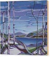 Sardi Lake Wood Print