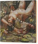 Save Me Wood Print by Ralph Nixon Jr