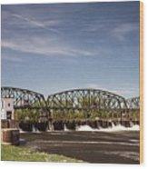 Schenectady Lock 8 Wood Print