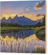 Schwabacher's Reflection Wood Print