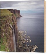 Scotland Kilt Rock Wood Print
