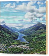 Scottish Landscape Wood Print