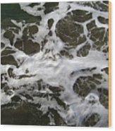 Seafoam Lace Wood Print
