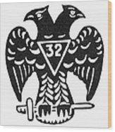 Seal: Freemasonry Wood Print