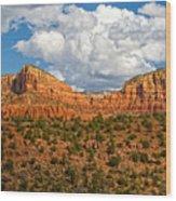 Sedona Mountains Arizona Wood Print