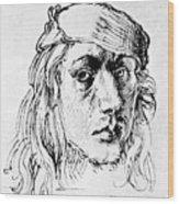 Self Portrait 1493  Wood Print